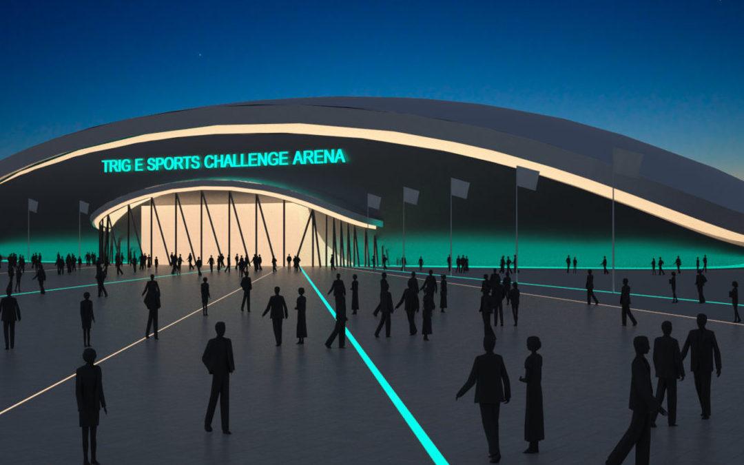 Trig E-sport Helsingborg (Utfört inom Tema Arkitekter)