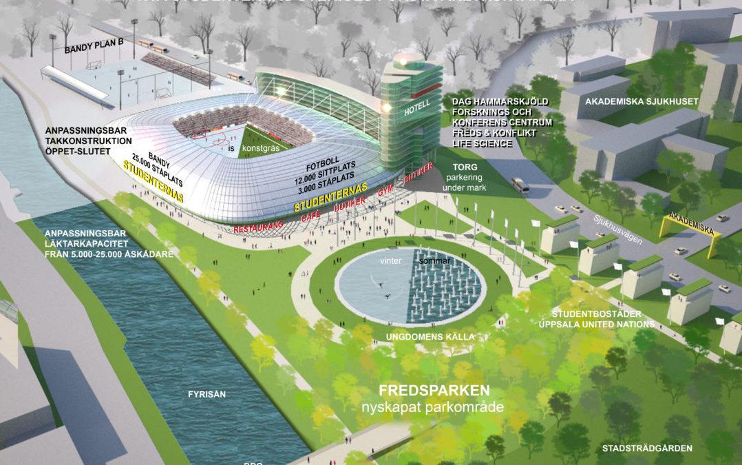 Studenternas IP Uppsala (Utfört inom Tema Arkitekter)