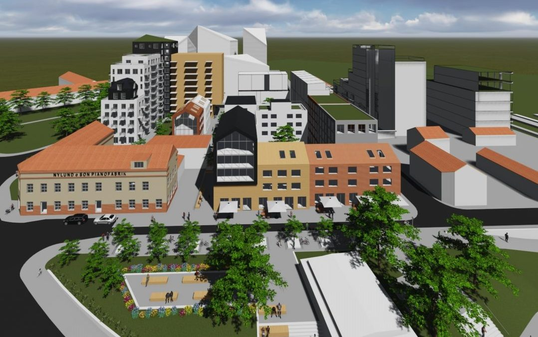 Detaljplaneutredning Kv Gudur o Vale Uppsala (Utfört i samarbete med Tema Arkitekter)