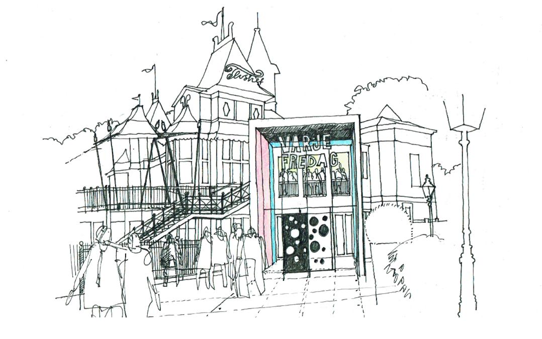 Om- och tillbyggnad Restaurang Flustret Uppsala (Utfört inom Tema Arkitekter)