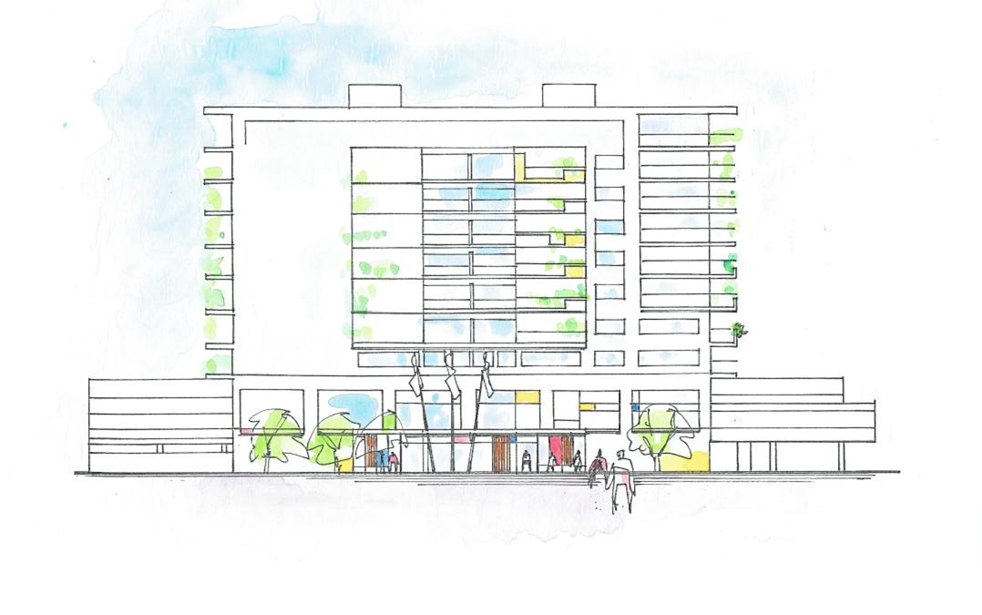 Nybyggnad bostäder Kvarngärdet Uppsala (Utfört inom Tema Arkitekter)