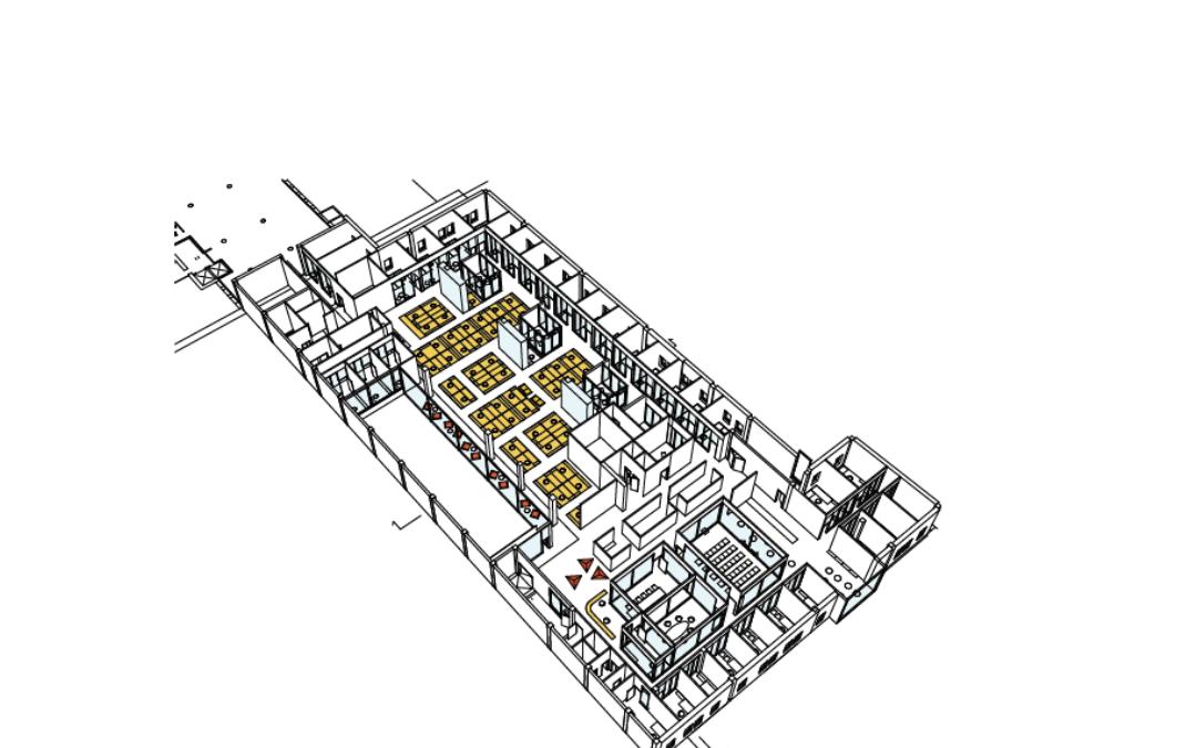 GERE Hyresgästanpassning, kontor (Utfört inom Tema Arkitekter)
